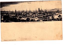 Troyes Vieux Troyes Vue Générale De Troyes En 1647 - Troyes