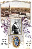 [DC2687] CPA - TORINO A S. M. IL RE D'ITALIA - Non Viaggiata - Old Postcard - Case Reali