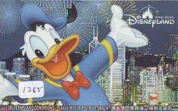 Disney Passeport Entreecard * HONGKONG * DISNEYLAND Passport (1285)  * FILM * CINEMA - Disney