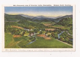 Western North Carolina Panoramic View Cherokee Indian Réservation Réserve Indienne - Etats-Unis