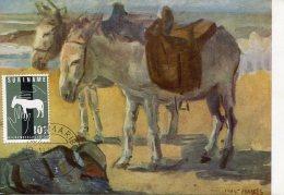 6823 Suriname,  Maximum  1963,   Donkey,  Ane, Esel, - Donkeys