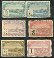 Maroc (1899) N 99 à 104 Toujours Sans Gomme - Neufs
