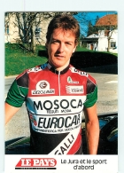 Jocelyn JOLIDON . 2 Scans. Cyclisme. Mosoca Galli 1990 - Ciclismo