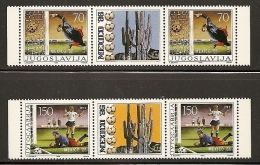 Yugoslavia, 1986, Football World Cup - Mexico, Stamp-vignette-stamp, MNH (**) - 1945-1992 Sozialistische Föderative Republik Jugoslawien