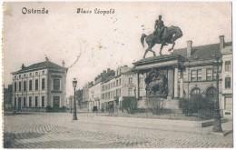 OSTENDE . Belgique . La Place Léopold . 1918 - Oostende