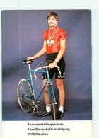 Hans KAENEL . 2 Scans. Cyclisme. Colner - Ciclismo