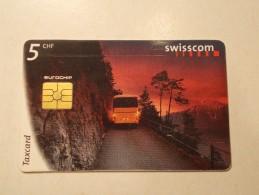 Swisscom SUISSE Tasxcard Télécarte Carte Téléphone (TEL 2 ) - Svizzera