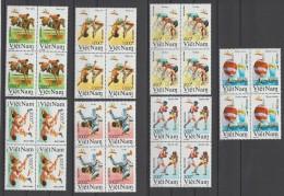 VIETNAM 1991  OLYMPIC  BARCELONE 92   YVERT N° 1164/70**MNH  CV  28 €  VF   Réf  E149