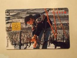 Swisscom SUISSE Tasxcard Télécarte Carte Téléphone (TEL 17 ) - Suisse