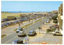 Saint Pierre La Mer (11) La Promenade Boulevard Des Embruns ( Vehicule Automobile - Voitures - Frankreich