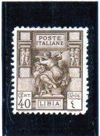 1924 Libia - Sibilla Libica - Libia