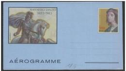Vaticano/Vatican: Intero, Stationery, Entier, Raffaello Sanzio, Cavallo, Cheval, Horse - Art