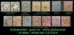 Umfangreiches Gutes Lot Von Italien Ab Mi. Nr. 4. - 45 Bilder - Michel über 5.975,00 € - 1861-78 Vittorio Emanuele II