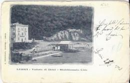 LERICI (Spezia) 1902 Vallata Di Botri - Stabilimento Lido - Italia