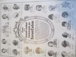 Hygiéne Et Santé/Encart Publicitaire/L'Illustration/Grand Format/Savon CADUM/1925   ILL125 - Droguerie & Parfumerie