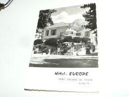 Hotel-Europe, Saint Dalmas De Tende, France - Frankreich