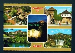 BOSNIA AND HERZOGOVINA  -  Jajce  Multi View  Unused Postcard - Bosnia And Herzegovina