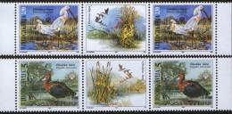 Yugoslavia, 1996, European Nature Protection, Stamp-vignette-stamp, MNH (**) Michel 2781-2782 - 1992-2003 Federal Republic Of Yugoslavia
