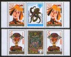 Yugoslavia, 1997, Joy Of Europe, Stamp-vignette-stamp, MNH (**) - 1992-2003 Federal Republic Of Yugoslavia