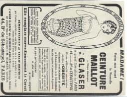 Hygiéne Et Santé/Encart Publicitaire/L´Illustration/Moyen  Format/Ceinture Maillot/1925   ILL132 - Droguerie & Parfumerie