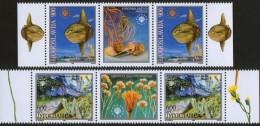 Yugoslavia, 1998, European Nature Protection, Stamp-vignette-stamp, MNH (**) - 1992-2003 Federal Republic Of Yugoslavia
