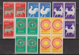 Suriname 556-560 MNH Sheets Blokken ; Paaszegels, Easter, Paques, Pascua De Resurreccion 1971 NOW SPECIAL SURINAME SALE - Suriname ... - 1975