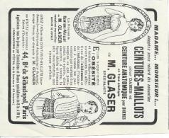 Hygiéne Et Santé/Encart Publicitaire/L´Illustration/Moyen  Format/Ceinture Maillot/1925   ILL134 - Droguerie & Parfumerie