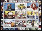 MERRY CHRISTMAS,MOVIE On SOUVENIR STAMP SHEET, MNH, MINT,#G - Cinema