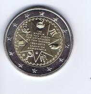 Grecia - 2 Euro Commemorativo 2014 - Unione Isole Ionie - Grecia