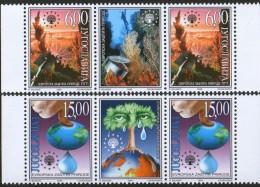 Yugoslavia, 1999, European Nature Protection, Stamp-vignette-stamp, MNH (**) - 1992-2003 Federal Republic Of Yugoslavia