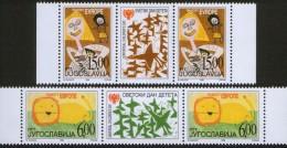 Yugoslavia, 1999, Joy Of Europe, Stamp-vignette-stamp, MNH (**) - 1992-2003 Federal Republic Of Yugoslavia