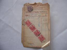FATTURA IL PARADISO DEI BAMBINI MILANO 1941 - Italia