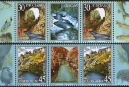 Yugoslavia, 2001, EUROPA, Stamp-vignette-stamp, MNH (**) - 1992-2003 Federal Republic Of Yugoslavia