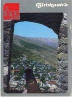 Gjirokastra Viewed From The Citadel - Albanie