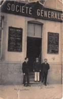 ¤¤  -   AUXONNE    -   Carte-Photo   - La Société Générale   -  Banque    -  ¤¤ - Auxonne