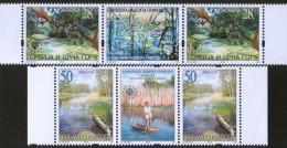 Serbia And Montenegro (Yugoslavia), 2003, European Nature Protection, Stamp-vignette-stamp, MNH (**) - 1992-2003 Federal Republic Of Yugoslavia