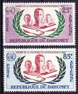 BENIN - DAHOMEY POSTE AERIENNE 1965 YT N° PA 30 Et 31 ** - Bénin – Dahomey (1960-...)