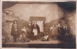 CARTE PHOTO SCENE DE THEATRE ENFANTS - Theater
