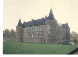 Bilzen-Rijkhoven(Tongeren)-Landcommanderij Alden Biesen-West-Zuidgevel Van Het Kasteel In De Verte Ziet Men De Oranjerie - Bilzen