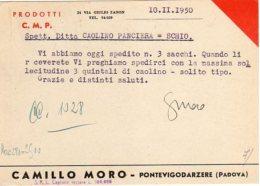 Ditta Camillo Moro - Pontevigodarzere - Padova - - Padova (Padua)