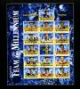 IRELAND/EIRE - 2000  TEAM OF THE MILLENIUM - HURLING  MS  FINE USED - Blocchi & Foglietti