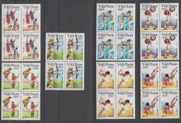 VIETNAM 1992  OLYMPIC  BARCELONE 92   YVERT N° 1294/1300**MNH  CV  28 €  VF   Réf  E152