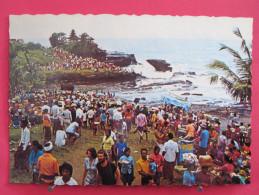 Indonésie - Bali - Pemandangan Indah Di Tanah Lot - Scans Recto-verso - Indonésie