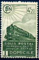 FRANCE COLIS POSTAUX 1941 N° YVERT N° 185  DENTELE NEUF AVEC TRACE DE CHARNIERE - Ongebruikt