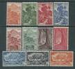 A. E. F.   N° 208 / 18  XX Partie De Série Les 11 Valeurs  Sans Charnière, TB - Unused Stamps
