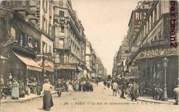 PARIS LA RUE DE CLIGNANCOURT 75018 - Distrito: 18