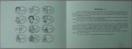 België 1996 Postdienst - 2020 Antwerpen Boekenbeurs - Poëzie En Boekdrukkunst (12 Verschillende Afstempelingen) - Postdokumente