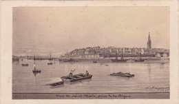 35 ST-MALO ST-SERVAN Photo Format CDV Photographe Maugendre 1865 - Lieux