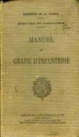 Manuel Du Gradé D'infanterie 1935 - Bücher