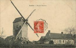 Dép 45 - Moulins à Vent - Ladon - Moulin Roution - état - Autres Communes